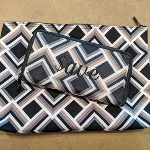 Thirty-one Save Your Way Clutch & Zipper Pouch